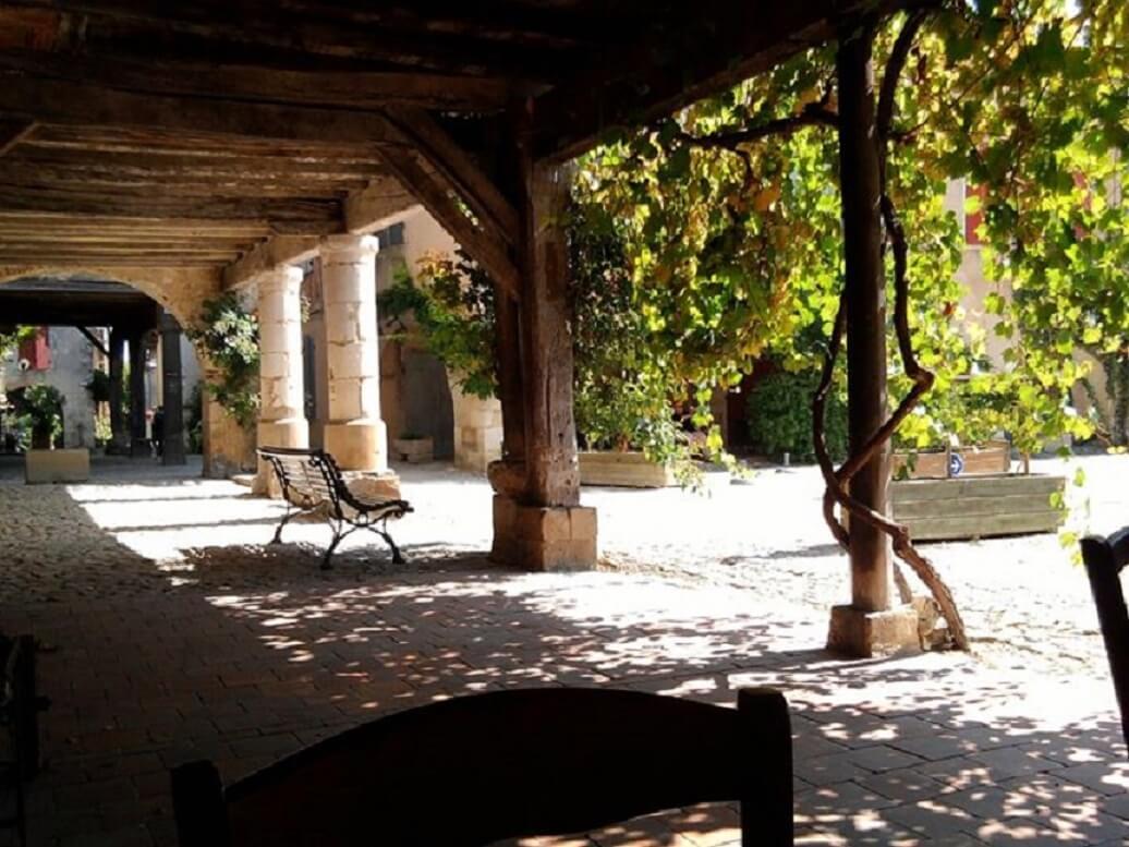 Arcades Bastide des Landes d'Armagnac